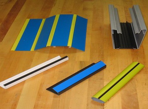 Samples of Co-Extrusion and Tri-Extrusion products